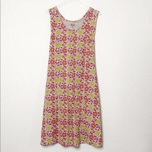 Flax Linen Waist Tie Dress